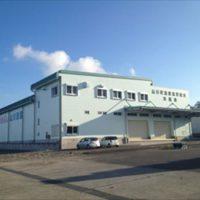 山川漁港協同組合冷蔵庫